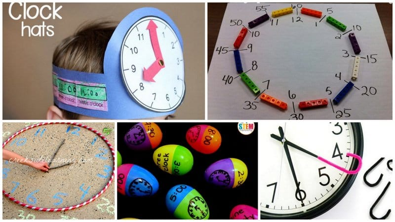 15 Hands-On Ways to Teach Telling Time (With Free Printables!)
