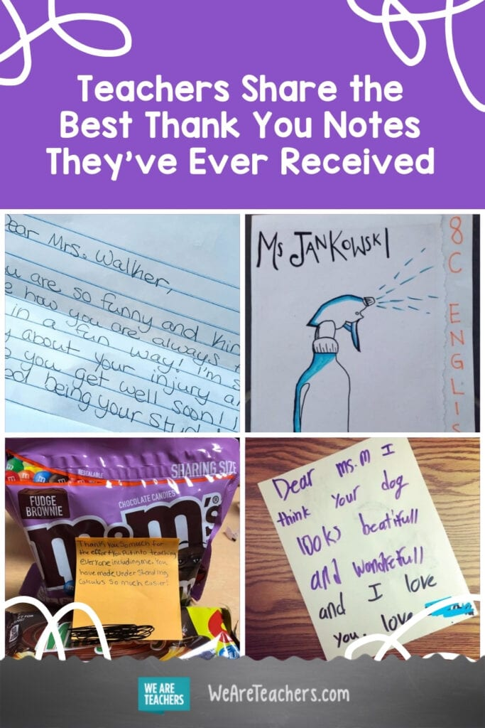 Teachers Share the Best Thank You Notes They've Ever Received