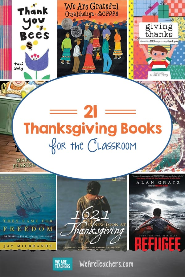 The Best Thanksgiving Books for the Classroom