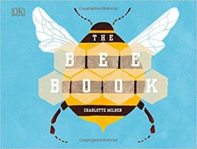 Book cover for The Bee Book, as an example of Earth Day books for kids