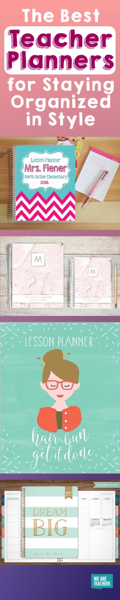 10 awesome planners for teachers erin condren lesson plans etc