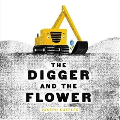 Book cover for The Digger and the Flower
