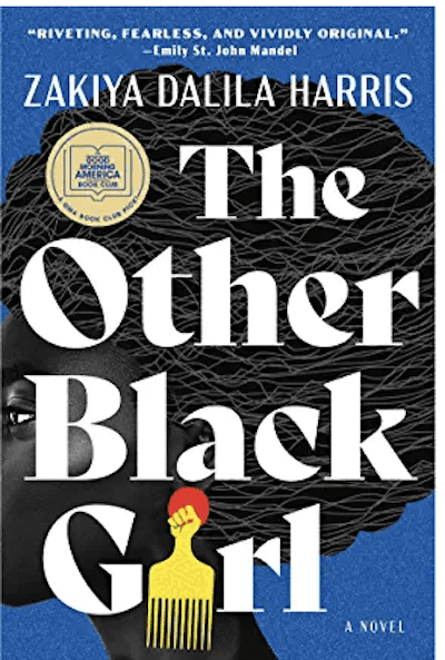 book cover: The Other Black Girl by Zakiya Dalila Harris, as an example of books for teachers to read over the summer
