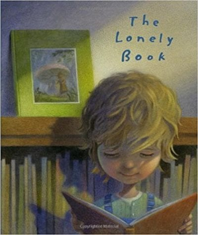 books about reading: lonely book