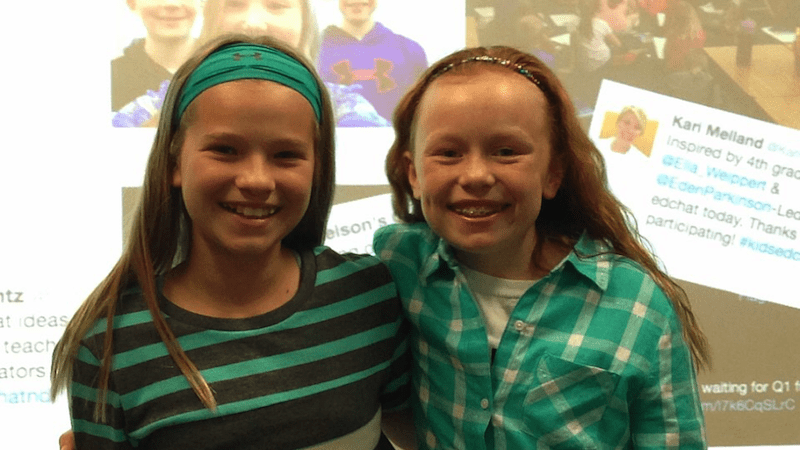 These 10 Year Old Students Started Their Own EdChat on Twitter