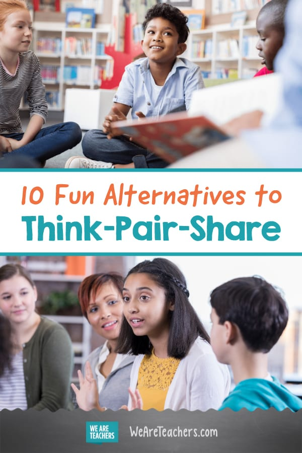 10 Fun Alternatives to Think-Pair-Share