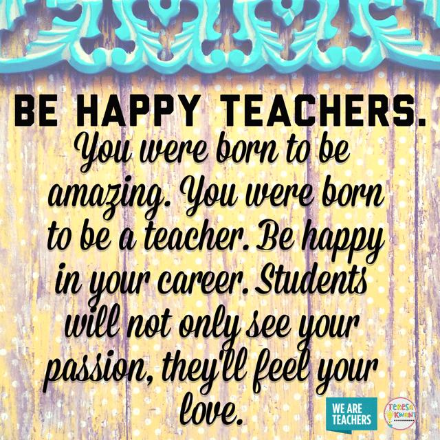 Be Happy Teachers