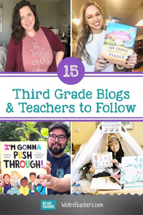 15 Amazing Third Grade Blogs andTeachers to Follow