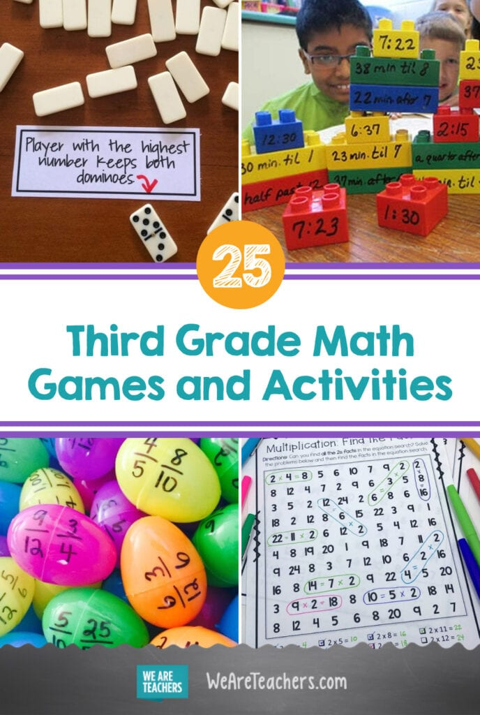 25 Third Grade Math Games and Activities That Really Keep Kids Engaged