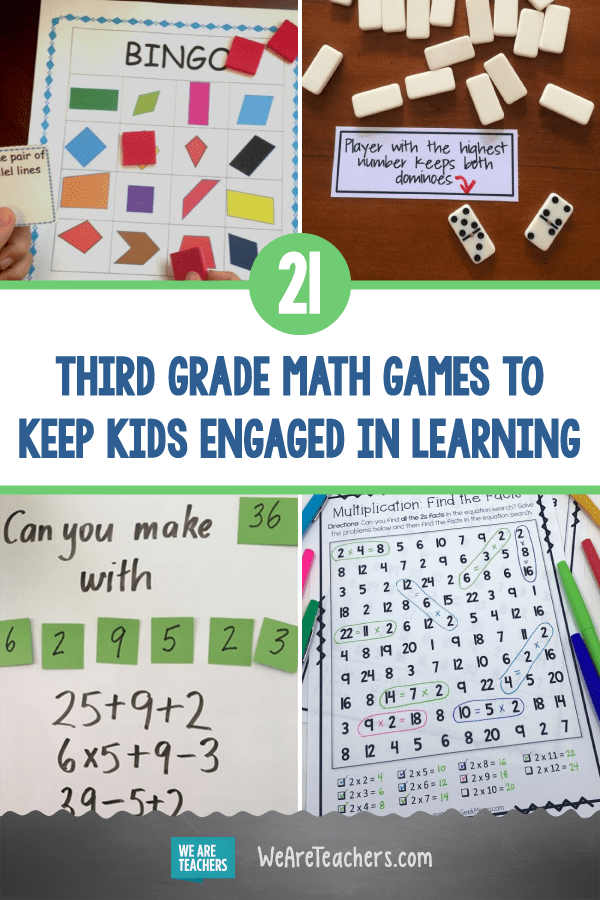 21 Third Grade Math Games To Keep Kids Engaged in Learning