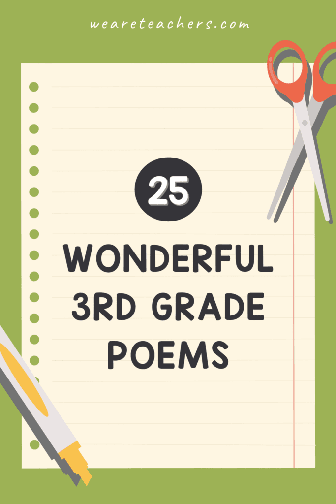 25 Wonderful 3rd Grade Poems for the Classroom