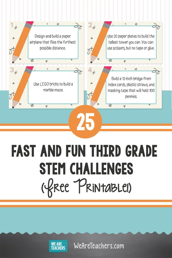 25 Fast and Fun Third Grade STEM Challenges Every Kid Will Love
