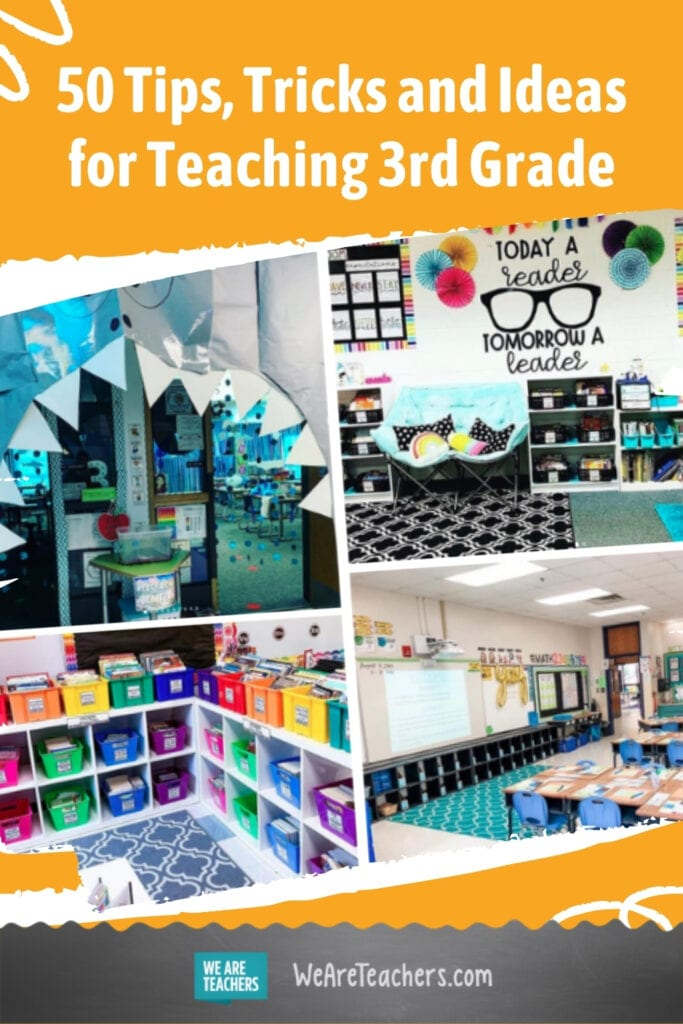 50 Tips, Tricks and Ideas for Teaching 3rd Grade