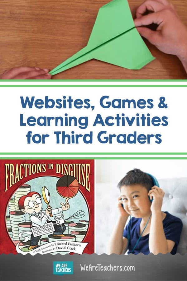 Fantastic Websites, Games, and Learning Activities for Third Graders