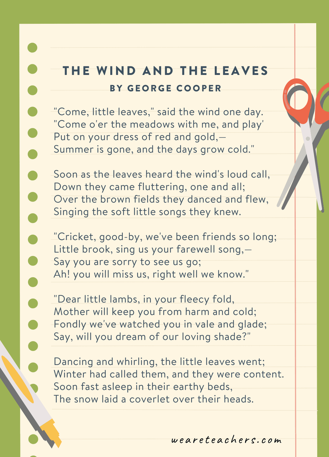 22. The Wind and the Leaves by George Cooper