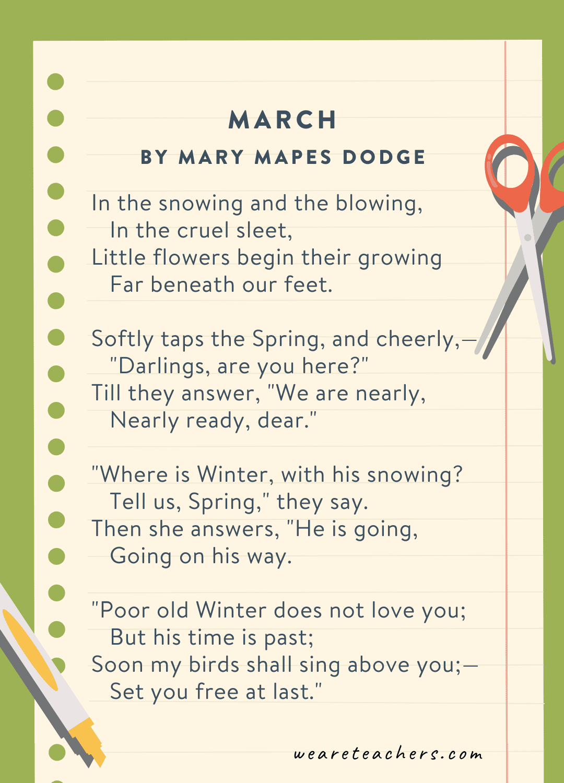 Third grade poem 24