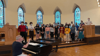 Schmidt Vocal Competition singers- This Competition Offers High School Singers Cash Awards and Scholarships
