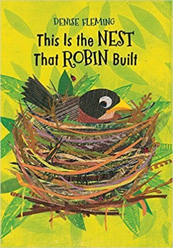 Book cover for This is the Nest That Robin Built