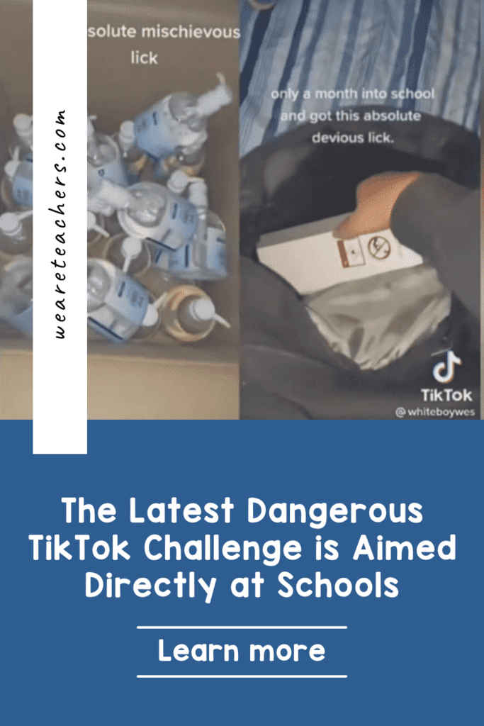 The Latest Dangerous TikTok Challenge is Aimed Directly at Schools