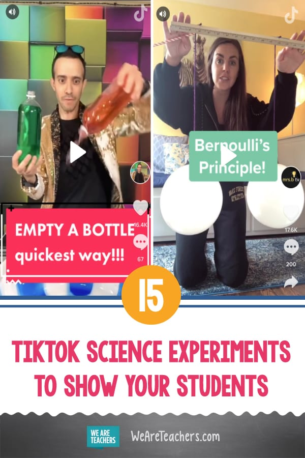 15 TikTok Science Experiments To Show Your Students