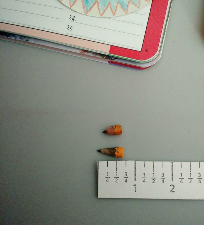 real classroom photos pencils