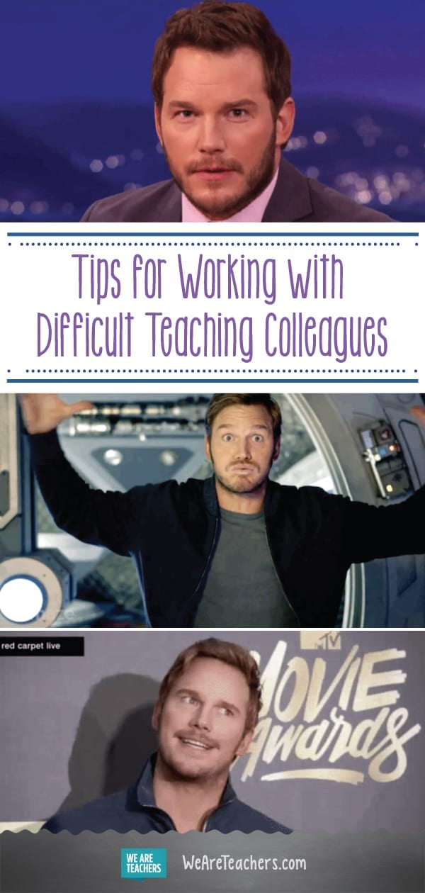 How to Work With a Colleague You Don't Like, as Told Through Chris Pratt GIFs
