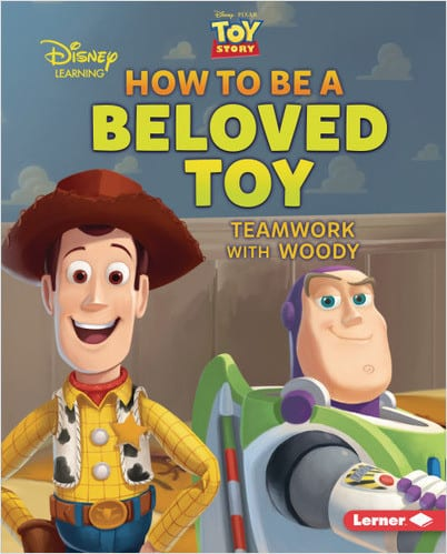 Character Education Book Cover - How to Be a Beloved Toy