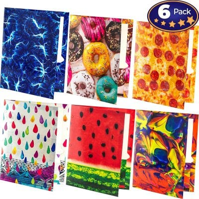 Trapper Keeper and Folders