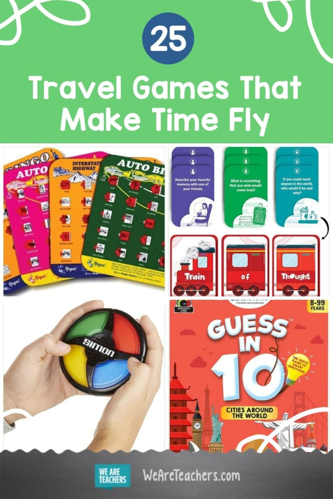 25 Travel Games That Make Time Fly for Kids and Families