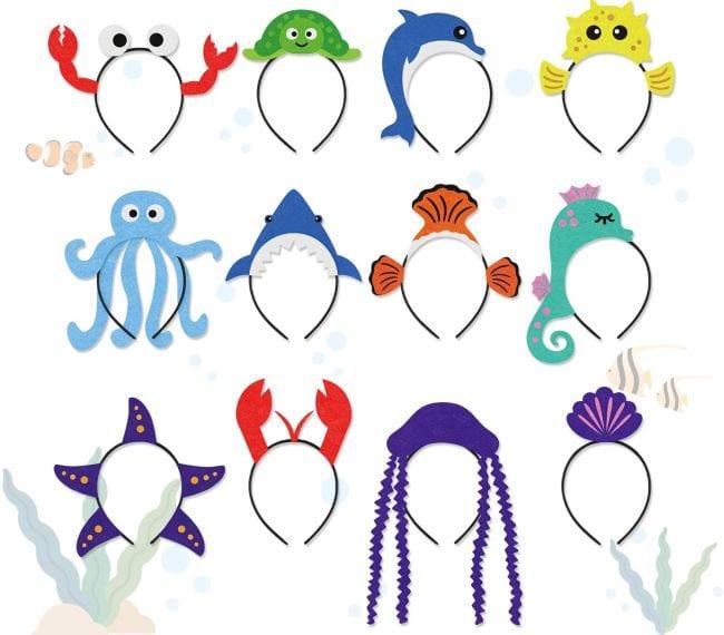 Treasure Box Animal Headbands