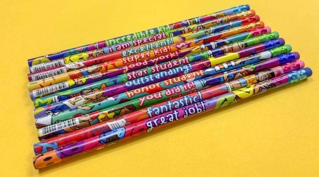 Treasure Box Incentive Pencils