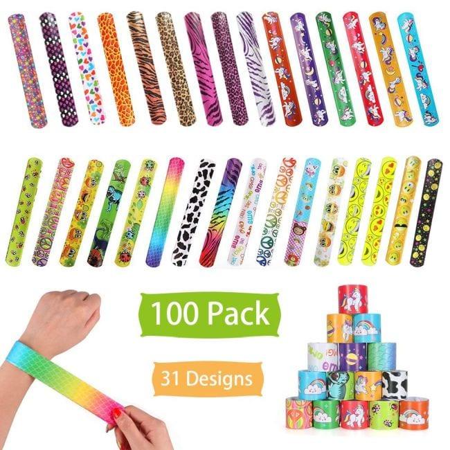 Treasure Box Slap Bracelets