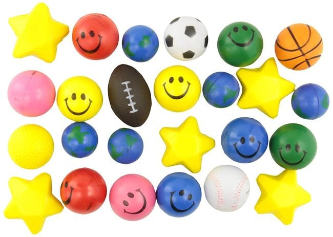 Treasure Box Stress Balls