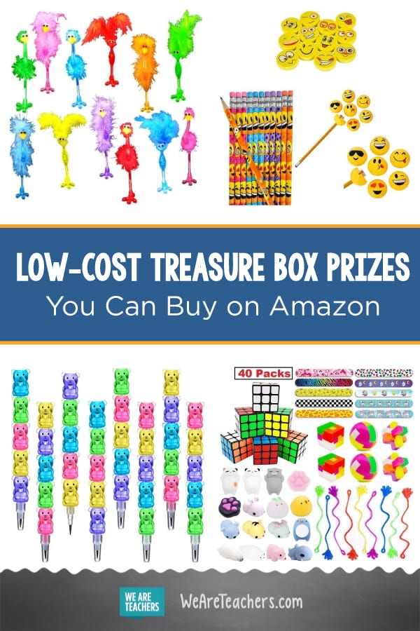 All the Best Low-Cost Treasure Box Prizes You Can Buy on Amazon