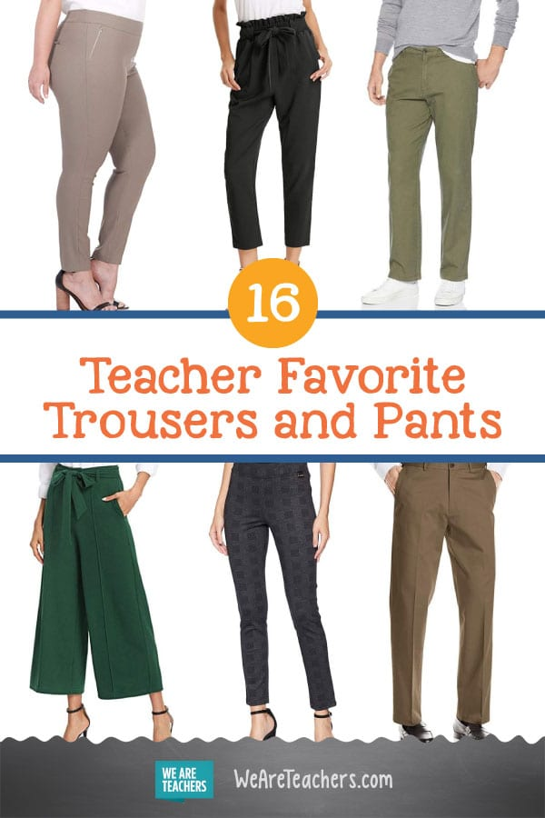 16 Teacher Favorite Trousers and Pants (For When You Can't Wear Jeans!)