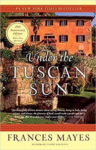 Under the Tuscan Sun book cover.