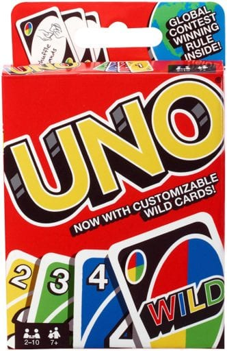 Best board games for preschoolers - Uno