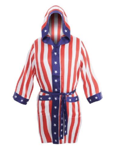 USA stars and stripes robe