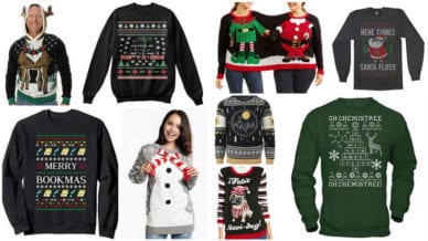 Ugly Christmas Sweaters for Teachers