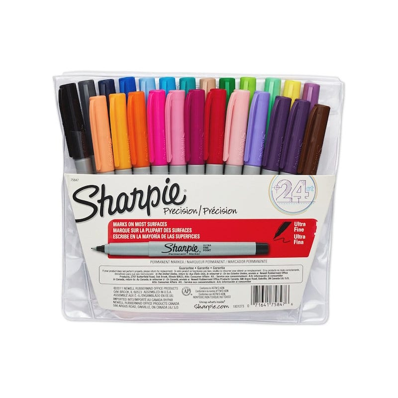 Ultra Fine Point Sharpies