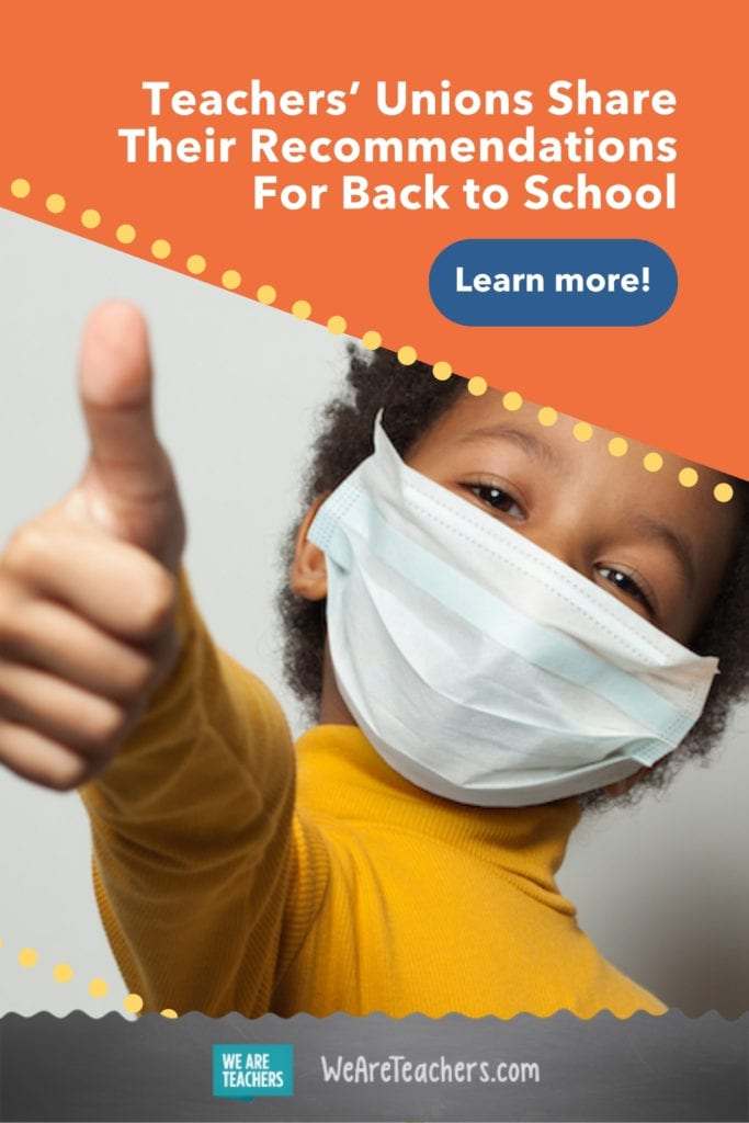 Teachers' Unions Share Their Recommendations For Back to School