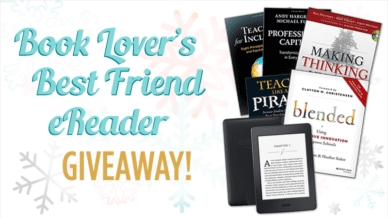 Book Lover's Best Friend eReader Giveaway