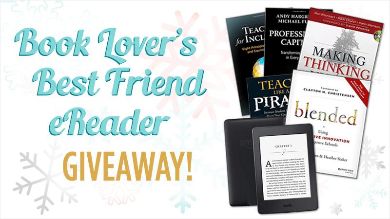 Book Lover's Best Friend eReader Giveaway