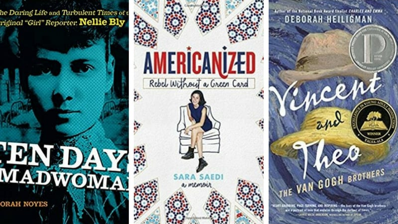 best biographies for teens as chosen by educators