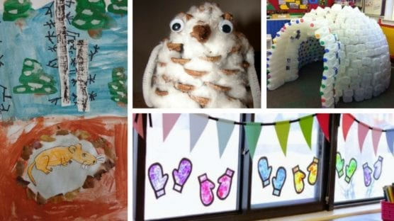 17 Adorable Classroom Winter Crafts