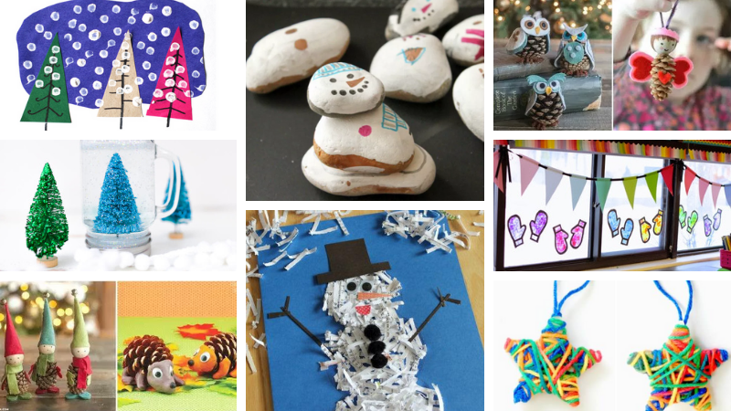 Classroom Winter Crafts That We Want To Try Right Now