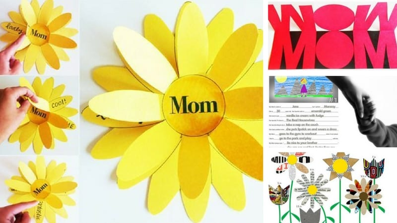 Mother S Day Crafts For Kids That Teach Important Skills Too