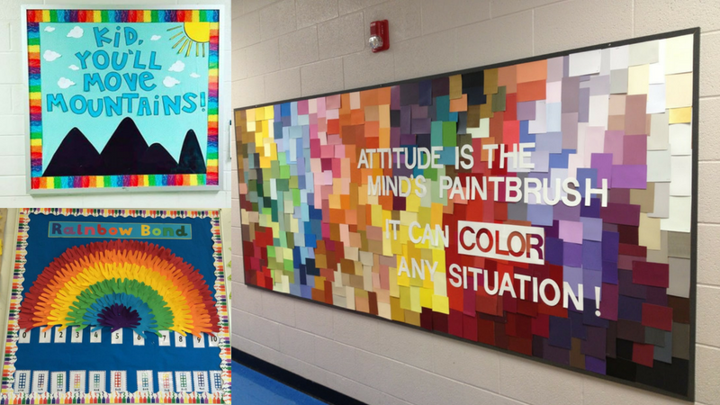 20 Rainbow Bulletin Boards For A Colorful Classroom