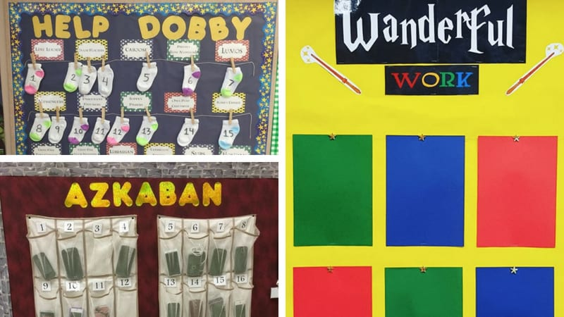 best harry potter bulletin boards
