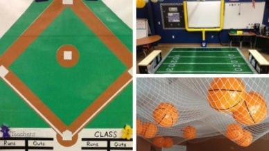 27 Ideas for a Sports Classroom Theme